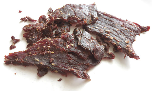 ginger orange beef jerky