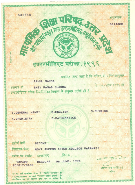 certificates  april 2011