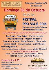 FESTIVAL PRO VIAJE DE LOS CHICOS DE LOS TALLERES