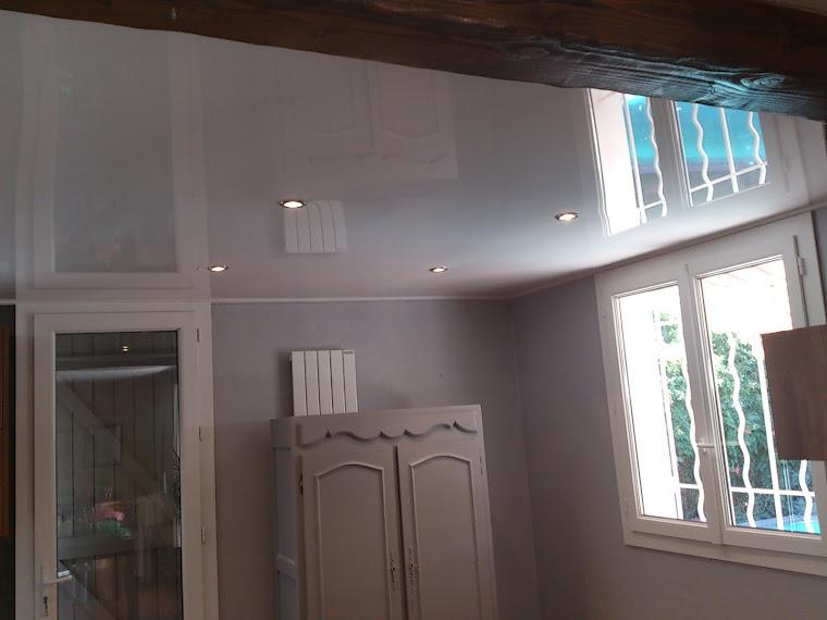 chambre plafond tendu