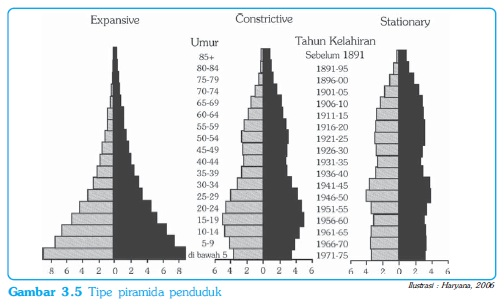 Tipe Piramida Penduduk