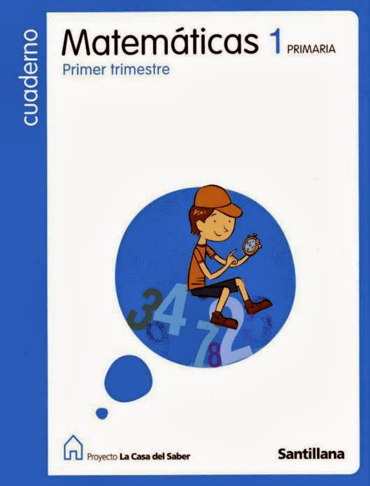 Cuadernillos matemáticas 1º Santillana