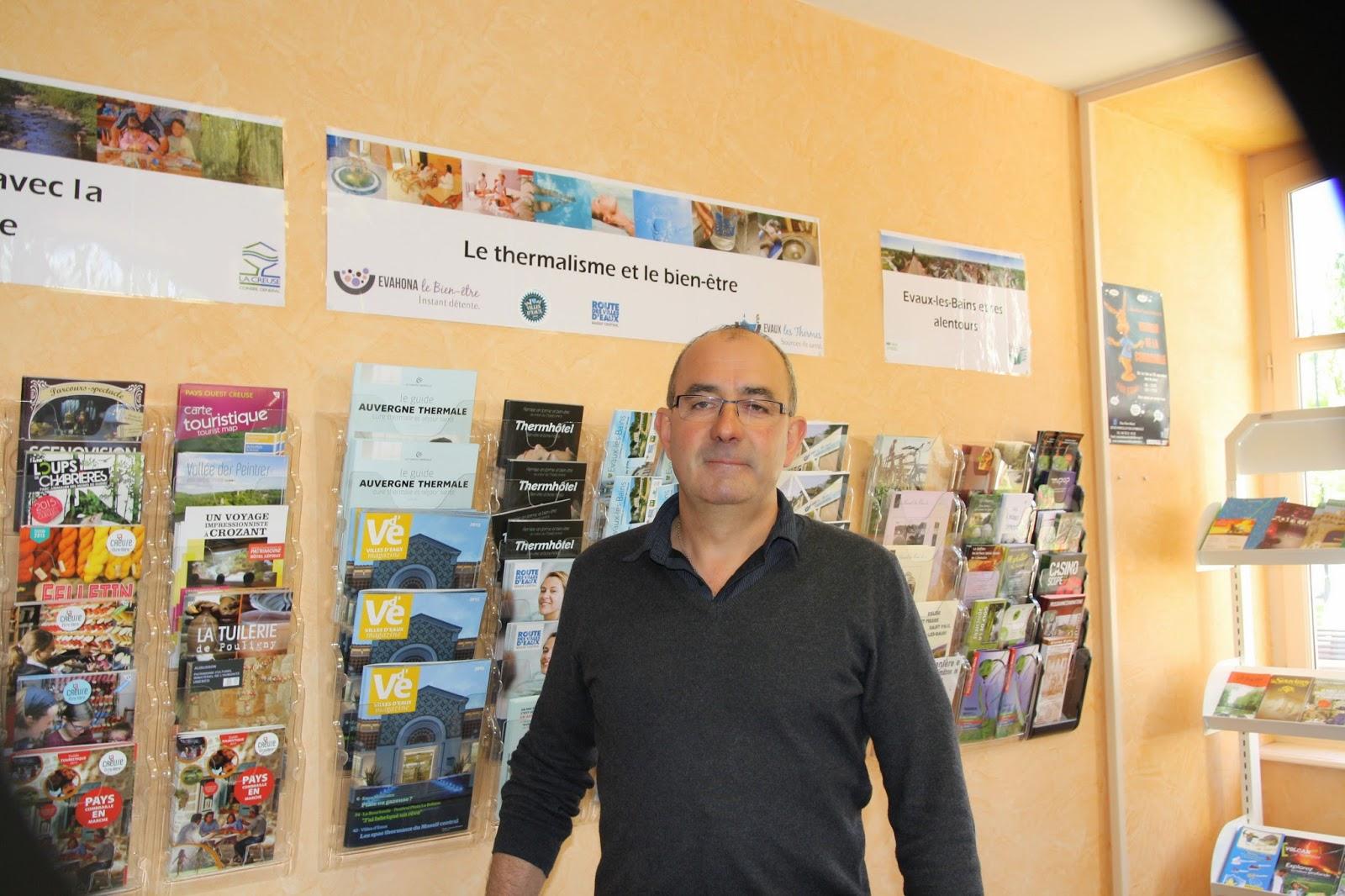 Info creuse allier nouveau pr sident l 39 office de tourisme evaux les bainsmonsieur gilles - Office de tourisme allier ...