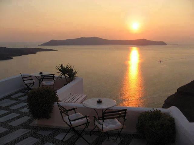 Sunset di balkon