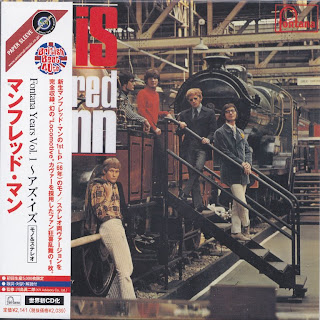 MANFRED MANN - AS IS (FONTANA 1966) Jap mastering cardboard sleeve mono+stereo