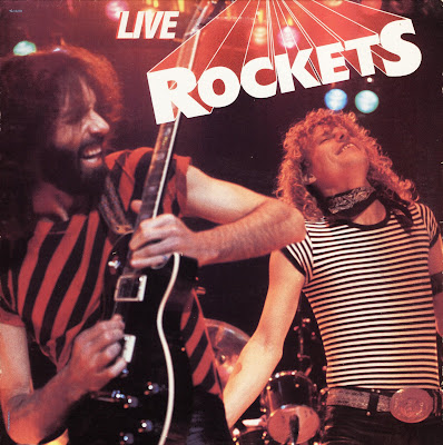 Rockets - Live Rockets (1983 great us classic rock)