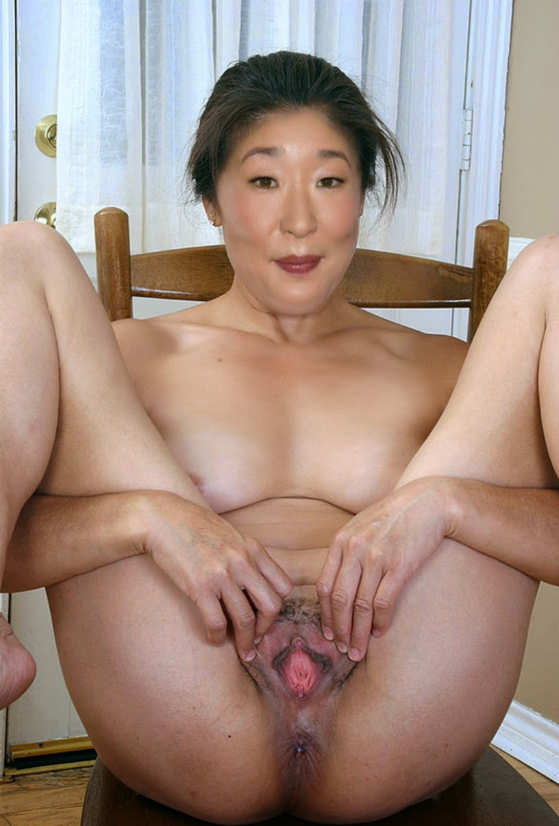 Mom asian nude something