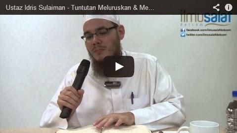 Ustaz Idris Sulaiman – Tuntutan Meluruskan & Merapatkan Saf