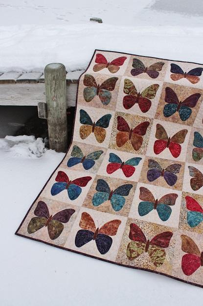 Tamarack Shack: Butterflies Quilt Done! : butterflies quilt - Adamdwight.com