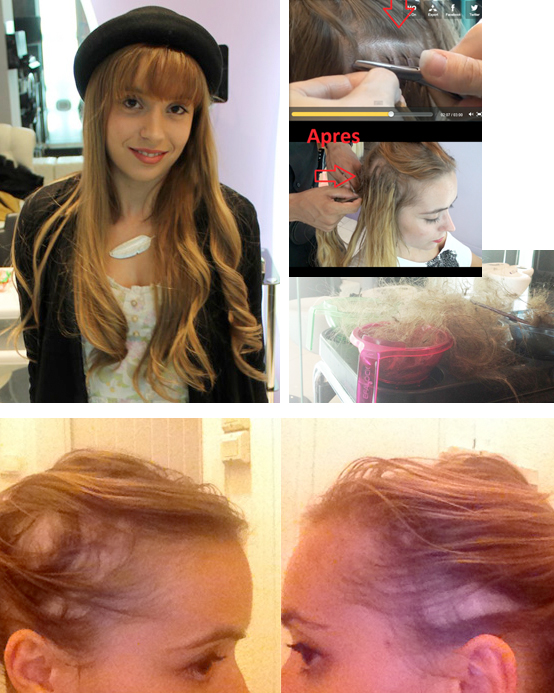 Coiffure et Extension de Cheveux Extension de Cheveux  le cas Miss Sp4ank @ Hair glam