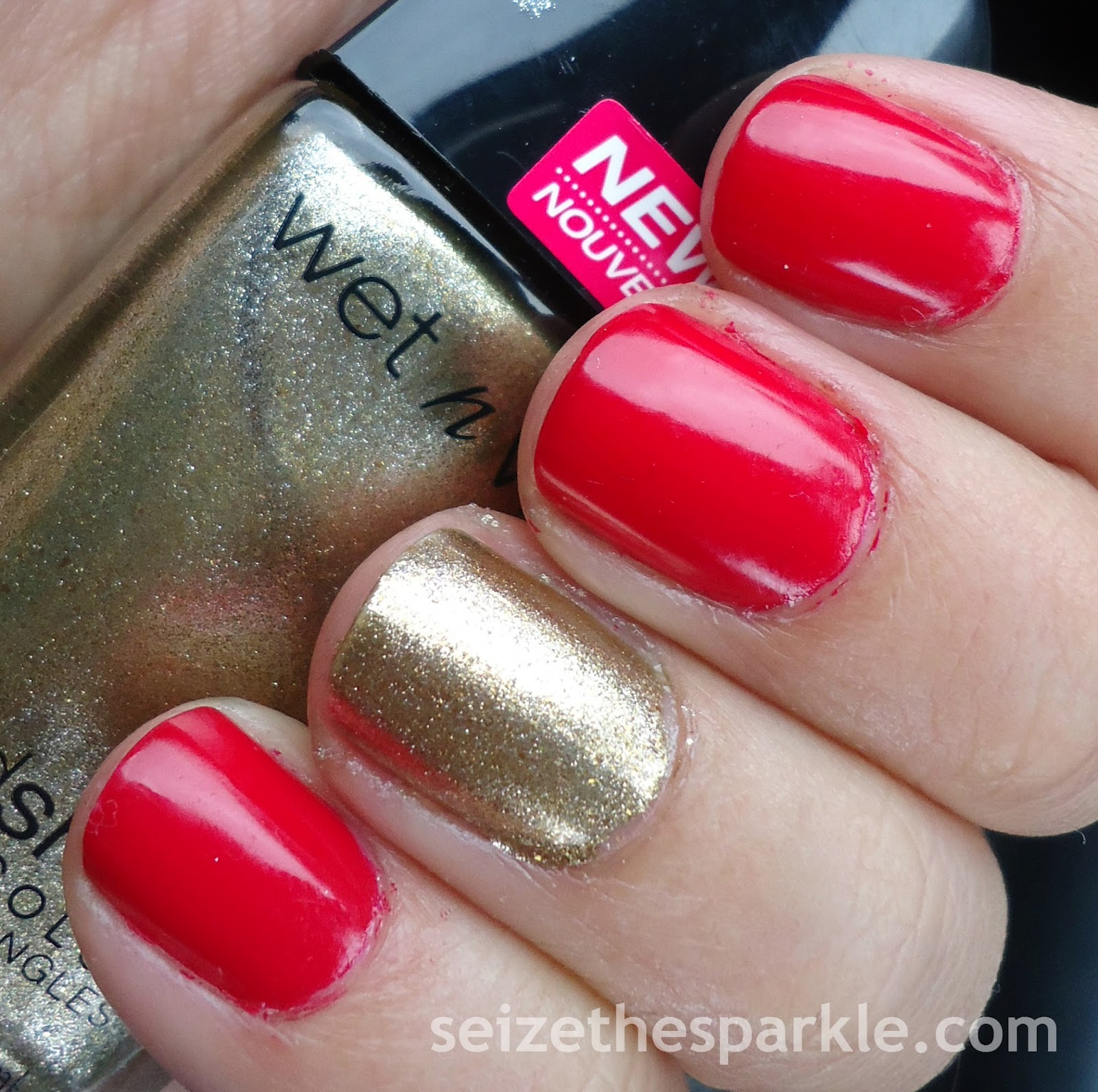 Wet n Wild Ready to Propose and Red Red