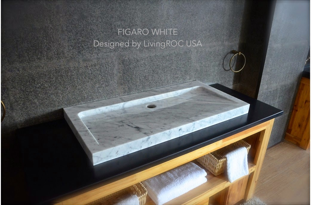 Granite Trough Sink : LivingRoc USA-The Blog: NATURAL STONE TROUGH SINKS!
