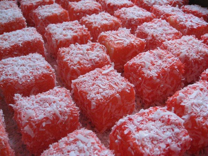 Pin Raspberry Lamington Cake Flickr Photo Sharing Cake on Pinterest