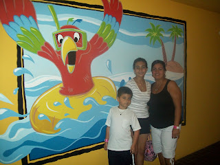 at florida hotel indoor water park pool