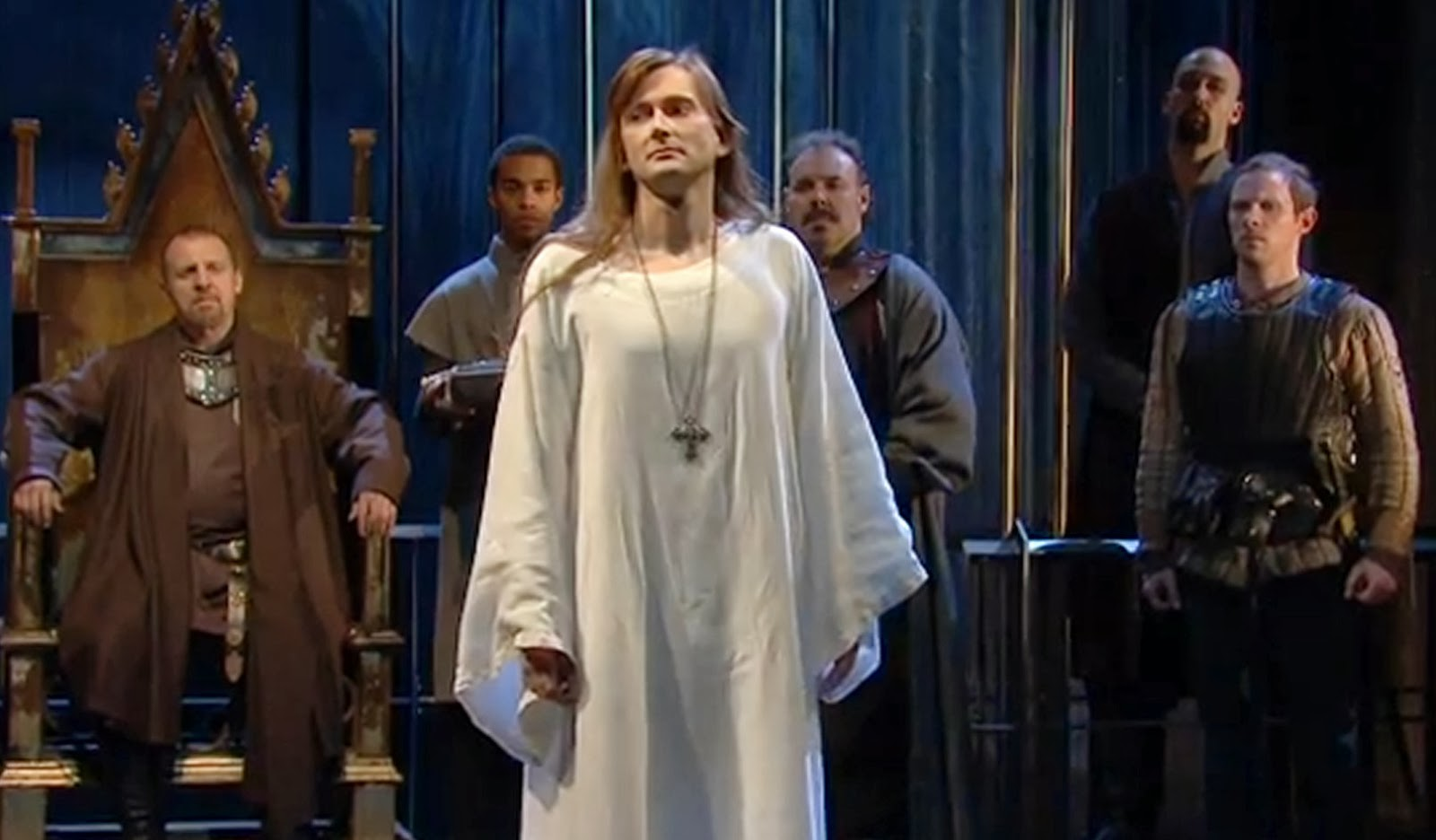 richard iis deposition in shakespeares play richard ii In richard ii, shakespeare's first  it is written entirely in verse and no apparent action aside from richard deposition  the descendant play of richard ii.
