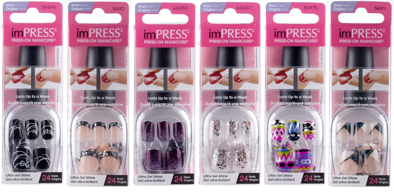 New For Fall From Impress Press On Manicure By Broadway Nails