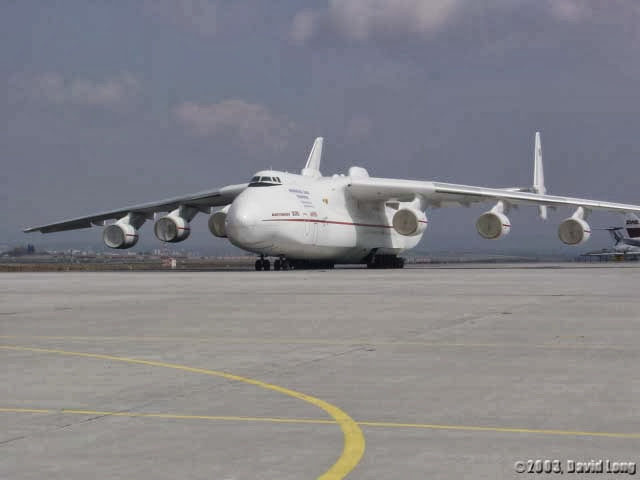 Antonov An-225 Mriya the World's Largest Aircraft