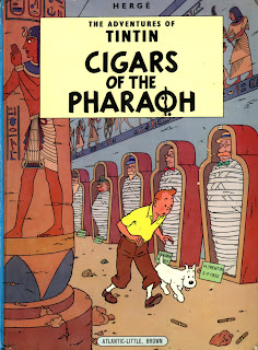 Tintin Comics Collection Free PDF, Cigars Of The Pharaoh Free PDF