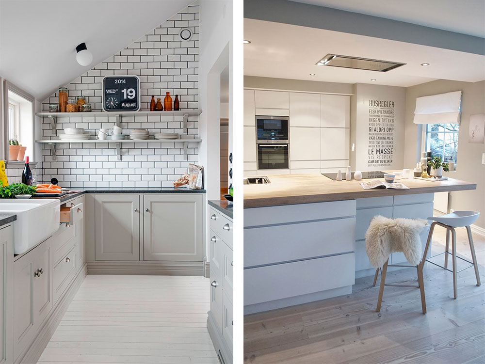 Inspiraci n cocinas con toques n rdicos decoratualma for Cocina nordica canal cocina