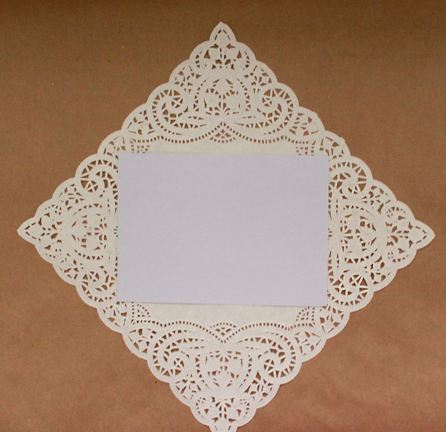 paper doily wedding invites - 28 images - doily is with template ...