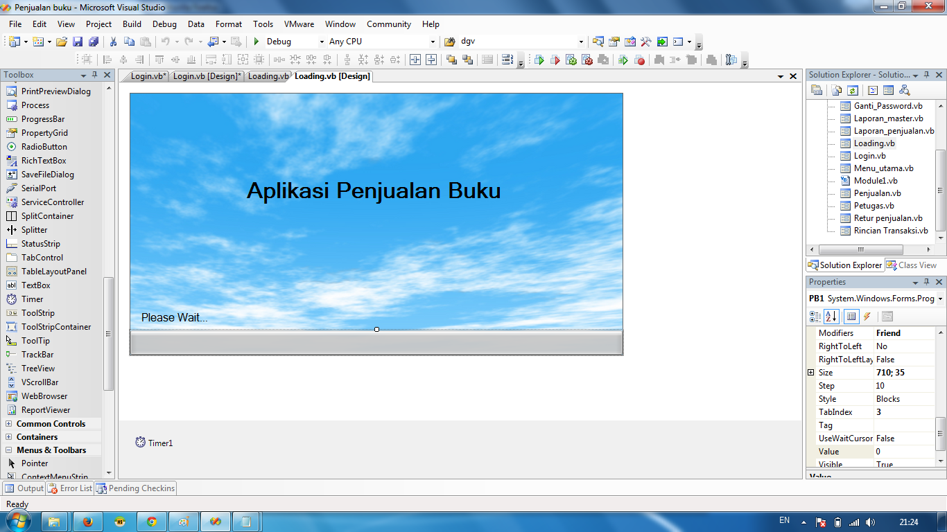 Tutorial VB.Net Aplikasi Penjualan (PART 3)