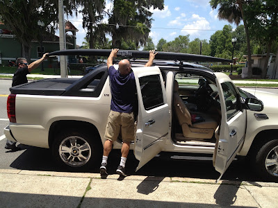Installation Vehicle Car Rack Transport Orlando