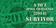 A to Z Challenge 2014 Survivor