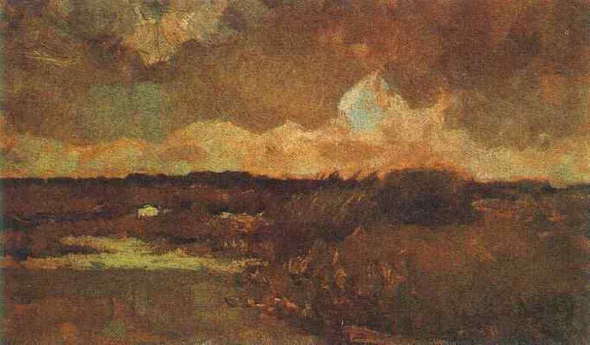 Marshy Landscape by Vincent van Gogh