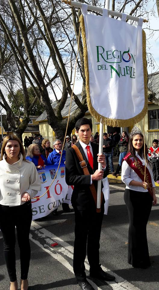 Corporación Ñuble Región en 238° Aniversario del Natalicio de Bdo. O´Higgins en Chillán Viejo