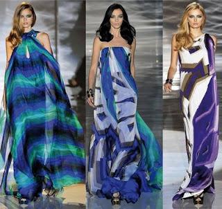 vestidos estampados longos