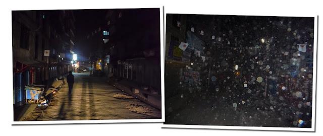 Calles de Thamel por la noche