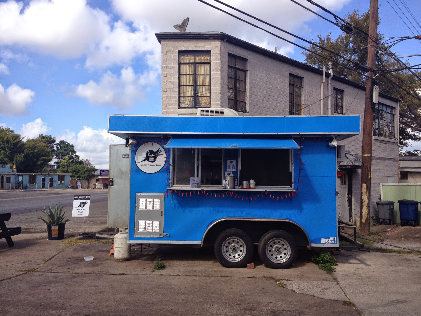 a tour of austin in food trucks.