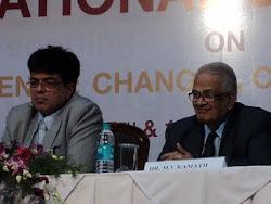 With Padmabhushan MV Kamath at Manipal for the National seminar on Media