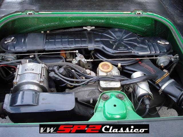 Motor Volkswagen 1700 detalhado