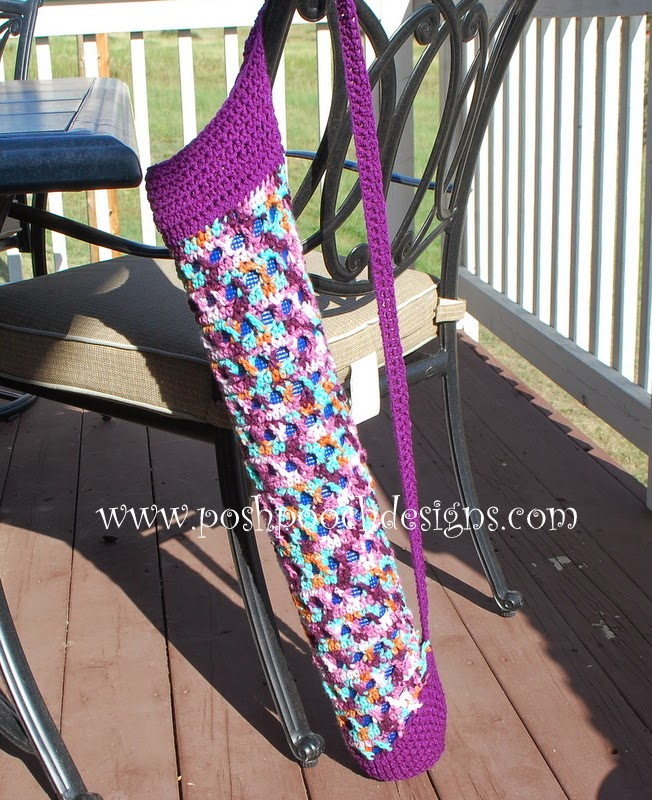 Free Crochet Pattern Yoga Mat Bag : Posh Pooch Designs Dog Clothes: Yoga Sock Crochet Pattern