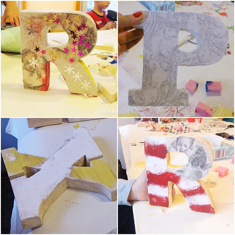 drewniane litery jak zrobić,majsterkowanie z dziećmi,blog diy,blog o majsterkowaniu,blogerka,warsztaty Wawel