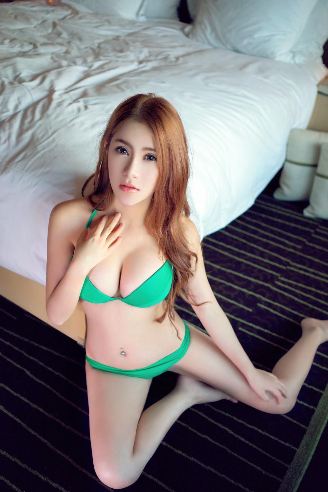 Li Qui Ci mẫu đồ lót cực khủng 9