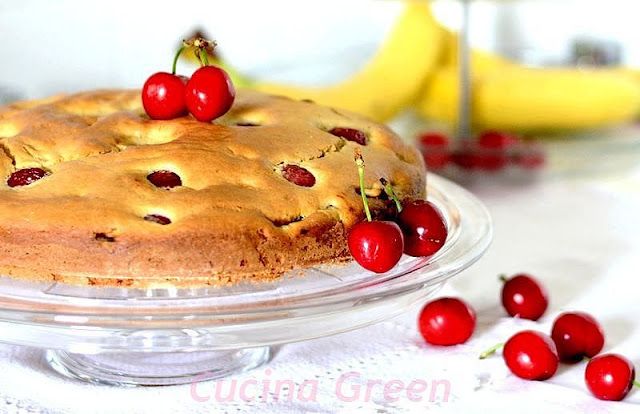 torta-ciliegie-morbida-leggera
