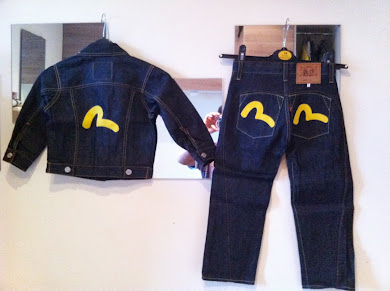 great kids evisu jeans set