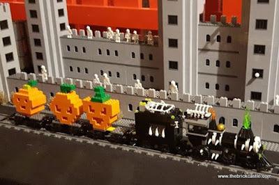 Creative Crew LEGO Halloween Ghost Train LDC Manchester
