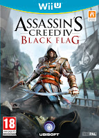 Wii U Assassin's Creed IV: Black Flag Box Art