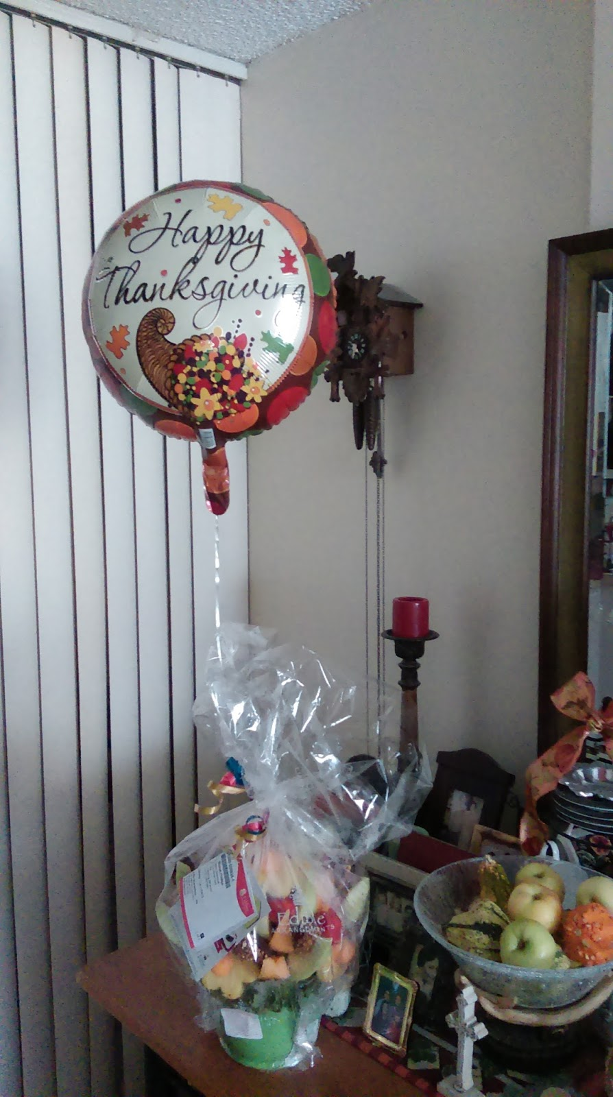 marian deer hunter i was so surprised the other day when i got a knock at my door and received this edible arrangement it was from my secret sister in my sorority