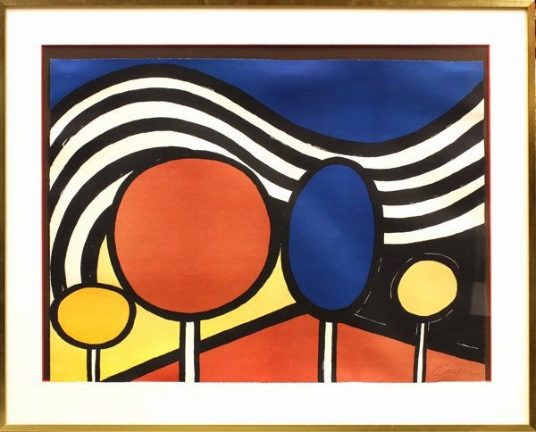 Counterfeit Calder sold for $850. by Clars on Live Auctioneers