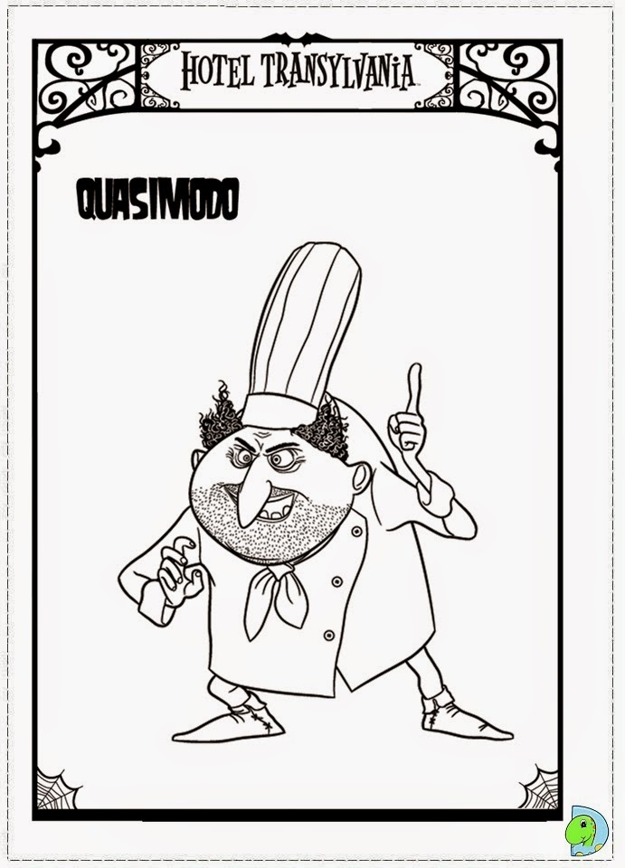 coloring pages hotel - photo#22