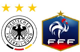 Alemania Vs Francia - Partido Amistoso 2012