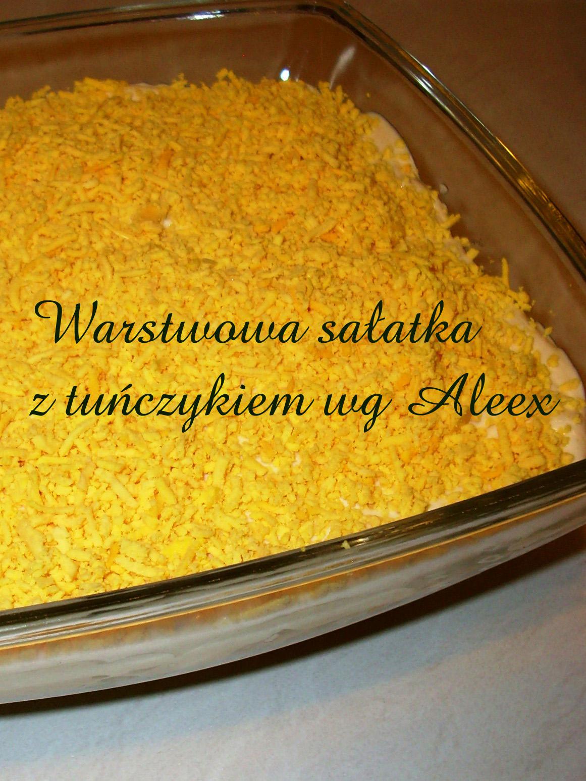 W Mojej Kuchni Sałatka Z Tuńczykiem Ii Wg Aleex