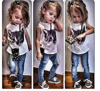 Foto Anak Perempuan Termodis Cantik