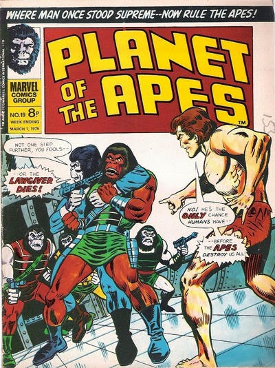 Marvel UK, Planet of the Apes #19