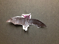 colored bat, coloured bat, coloring in, colouring in, bat, craft, cutting, template