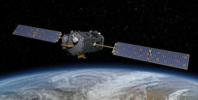 NASA's Orbiting Carbon Observatory (OCO)-2 (Artist Concept). Credit: NASA